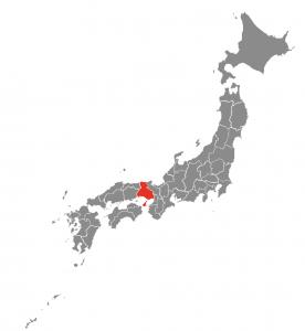 Mapa Japón Himeji