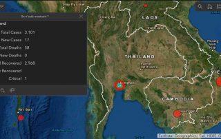 El Frente Económico del gobierno de Tailandia en la lucha contra COVID-19 Casos Covid Tailandia 2020