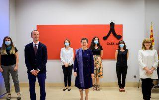 Visita de la Ministra de Asuntos Exteriores, Unión Europea y Cooperación, Arancha González-Laya
