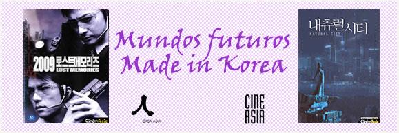 """Sesión de cine CINEASIA: """"Mundos Futuros Made in Korea"""""""