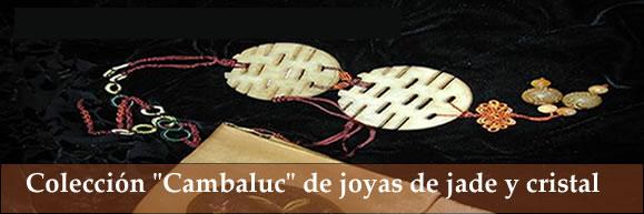 """Jade y cristal: Presentación de la colección """"Cambaluc"""" diseñada por Inma González Puy"""