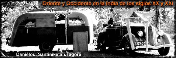 """Exposición: """"Oriente y Occidente en la India de los siglos XX y XXI; Daniélou, Santiniketan, Tagore"""""""