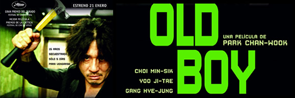 Preview of <i>Old Boy</i>, by Park Chan-wook