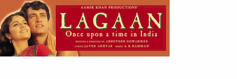 """Proyección de secuencias de la película """"Lagaan"""""""