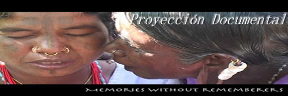 "Proyección documental: ""Memories without rememberers"""