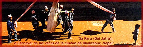 """Presentación del documental: """"Sa Paru (Gai Jatra), o Carnaval de las vacas de la ciudad de Bhaktapur, Nepal"""""""