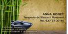 Terapeuta de Shiatsu en movimiento Anna Bonet