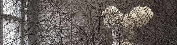 """Exposición: """"Sincronizando hilos y rizomas"""", de Chiharu Shiota - IMG 2"""