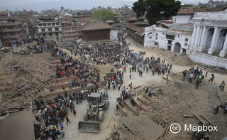 The earthquake in Nepal leaves a devastated country